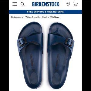 BIRKENSTOCK Madrid Essentials brand new